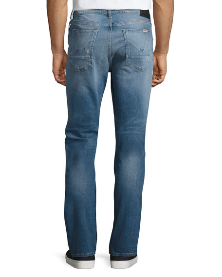Men's Sartor Slouchy Skinny Denim Jeans, Blue