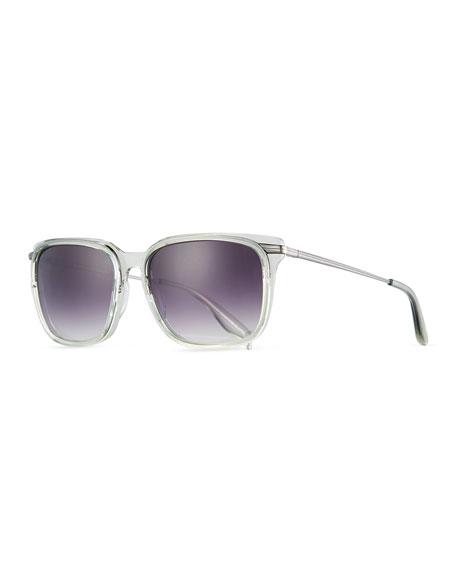 Barton Perreira Prouvé Square Acetate Sunglasses,