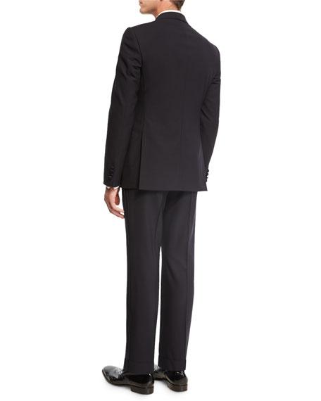 M Line Two-Piece Tuxedo Suit, Navy