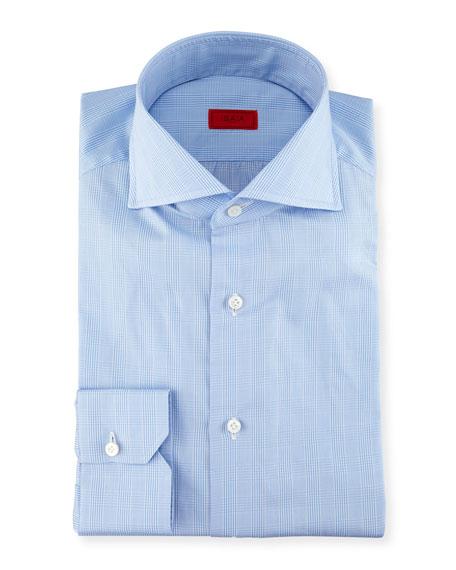 Glen Plaid Twill Dress Shirt