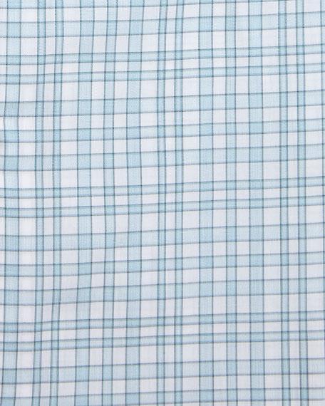 Unconventional Check Dress Shirt