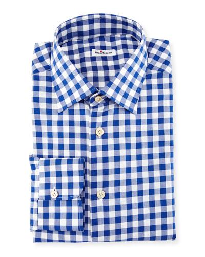 Buffalo-Check Dress Shirt