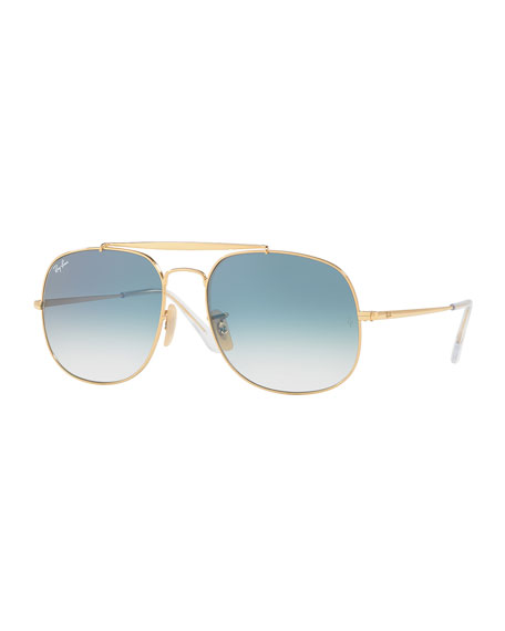 Ray-Ban The General Aviator Sunglasses, Golden