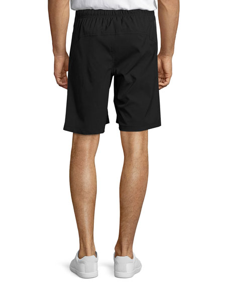 Veritas Dual Athletic Shorts, Black