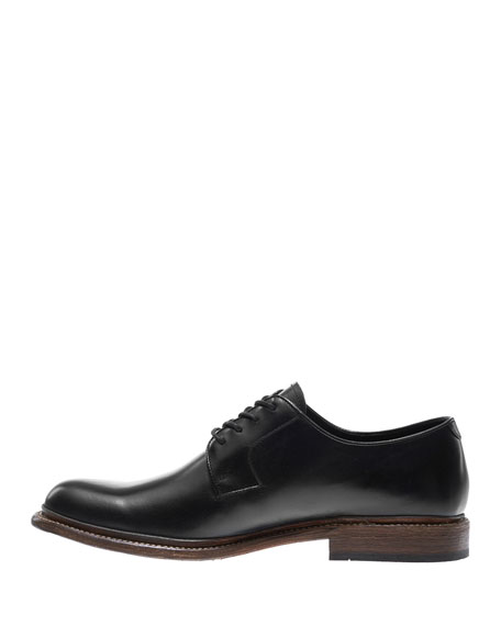 Luke Leather Oxford Shoe, Black