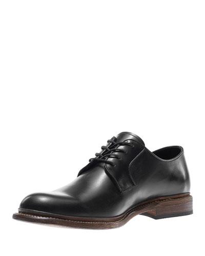 Luke Leather Oxford Shoe, Black