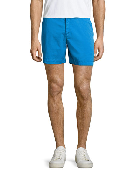 Orlebar Brown Bulldog Solid Swim Trunks, Blue