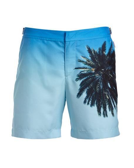 Bulldog Palm Reacher Swim Trunks