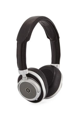 Master & Dynamic MW50 Wireless Over-Ear Headphones, Black