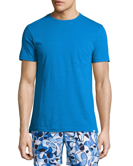 Orlebar Brown Sammy II Short-Sleeve T-Shirt, Blue