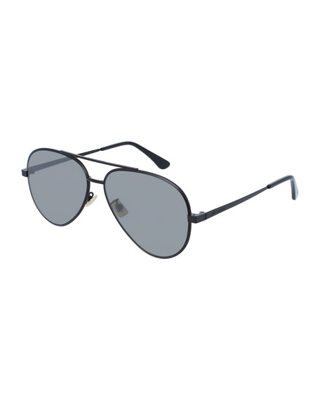 Men's Classic 11 Zero Aviator Sunglasses, Black