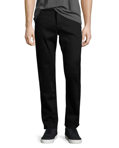 Standard Issue Fit 3 Loose-Fit Straight-Leg Jeans, Black