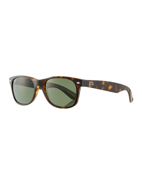 Ray-Ban Men's New Wayfarer 55mm Polarized Classic Sunglasses