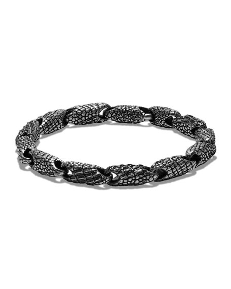 David Yurman Men's Sterling Silver Naturals Gator Link