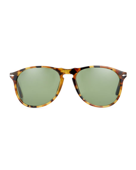 PO9649S Round Sunglasses