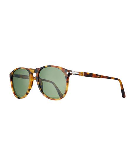 Persol PO9649S Round Sunglasses