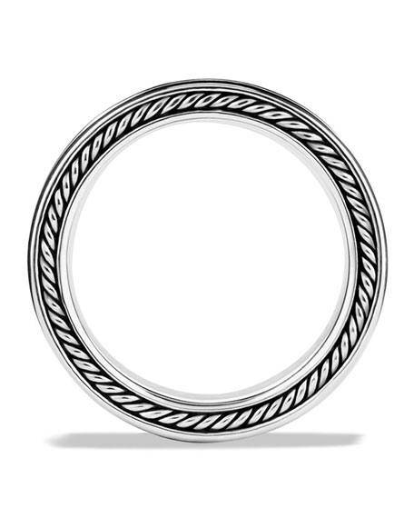 Men's Sterling Silver Armory Narrow Band Ring