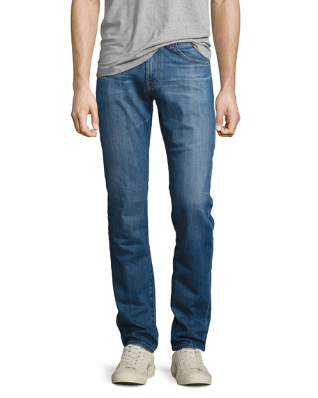 AG Matchbox 10 Years Straight-Leg Jeans