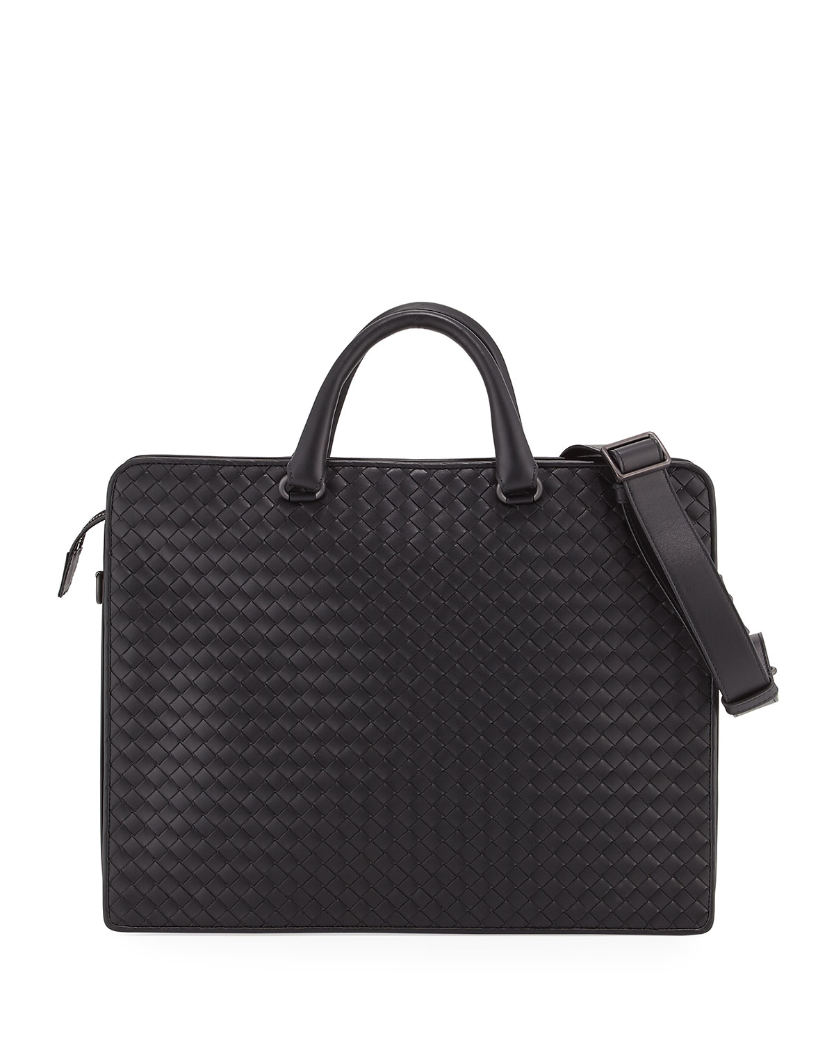 efd95cb77f10 Bottega Veneta Intrecciato Calf Leather Briefcase