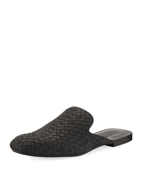 Bottega Veneta Intrecciato Leather Slipper