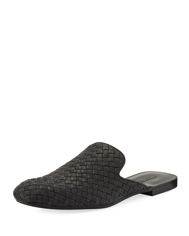1b15323065c7 Bottega Veneta Intrecciato Leather Slipper
