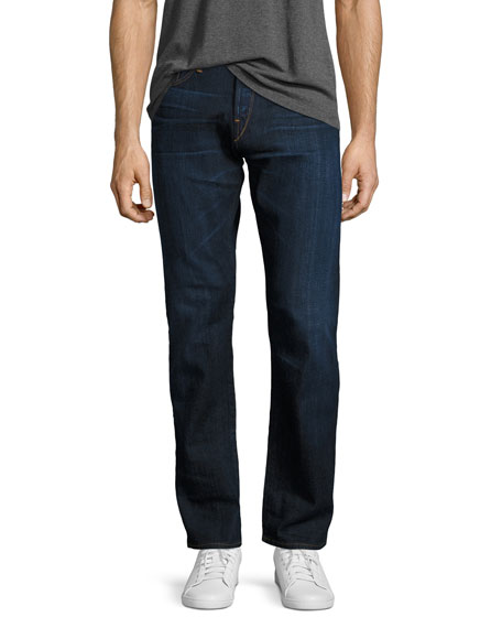 3x1 M4 Low-Rise Straight-Leg Jeans, F119