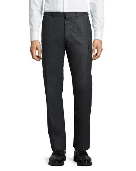 Wool Cargo Trousers