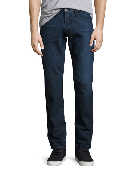 3x1 M4 Low-Rise Straight-Leg Jeans, Drifters