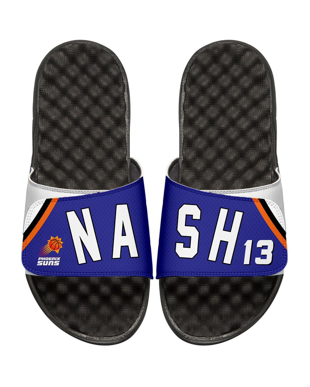 9b942d906751 ISlide Men s NBA Retro Legends Steve Nash  13 Jersey Slide Sandals ...