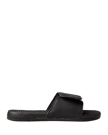 Men's NBA Dallas Mavericks Primary Slide Sandals, Black