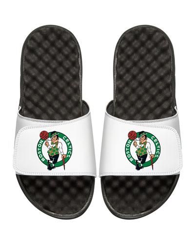 NBA Boston Celtics Primary Slide Sandal, White