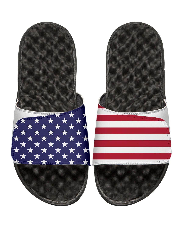 islide men s american flag slide sandals white neiman marcus