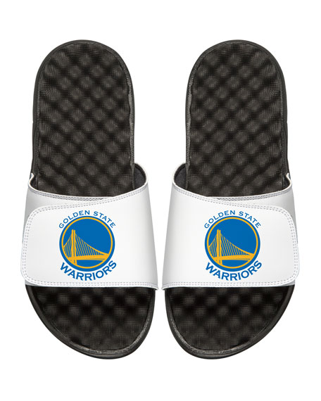 Men's NBA Golden State Warriors Primary Slide Sandals, White