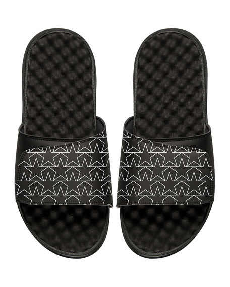 ISlide Star Outline Slide Sandal
