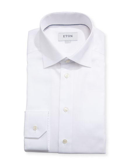 Micro-Dot Dress Shirt