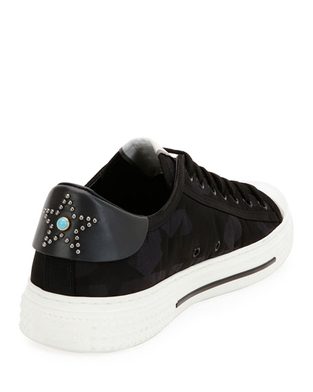 Men's Star All Rock Low-Top Sneaker, Black/Gray