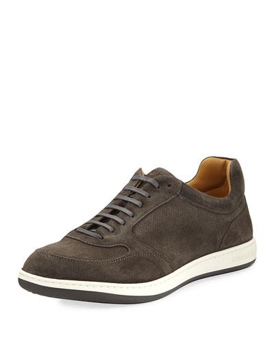 Suede Running Sneakers