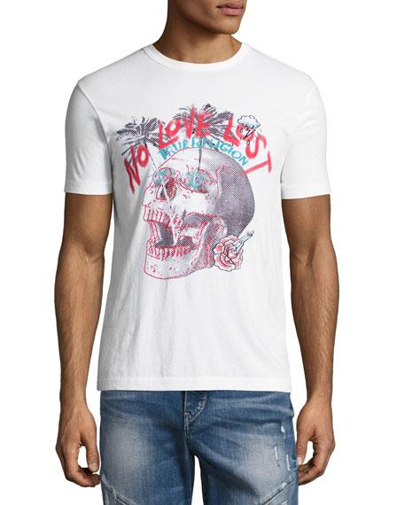 No Love Lost T-Shirt, Optic White
