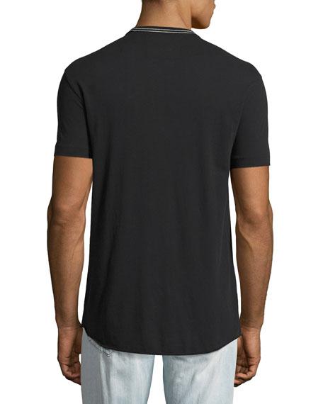 Buddha Logo-Print T-Shirt, Black