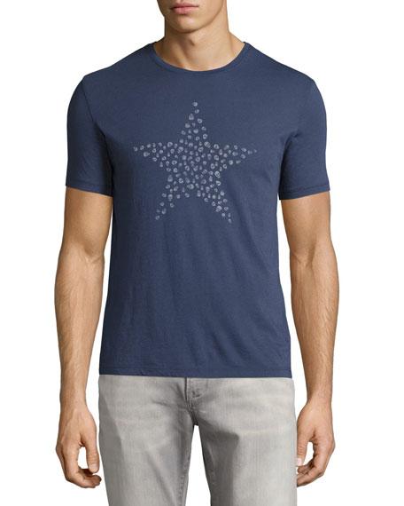 John Varvatos Star USA Skull Star Graphic T-Shirt,