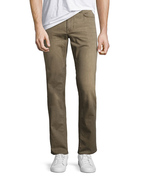 John Varvatos Star USA Bowery Slim-Straight Denim Jeans,