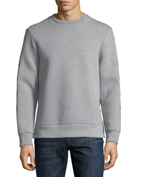 Neil Barrett Neoprene Military-Arrow Sweatshirt
