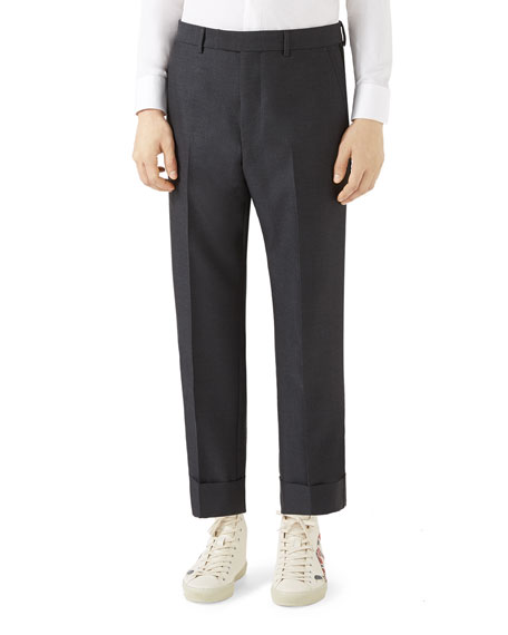 Gucci Tailored Wool Mohair Pants
