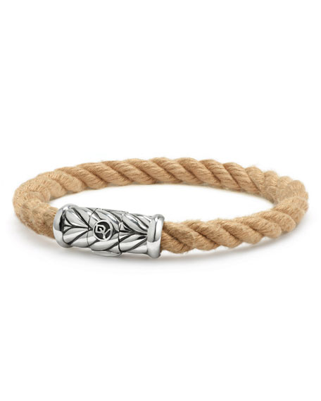 David Yurman Men's 8mm Maritime Rope Bracelet with