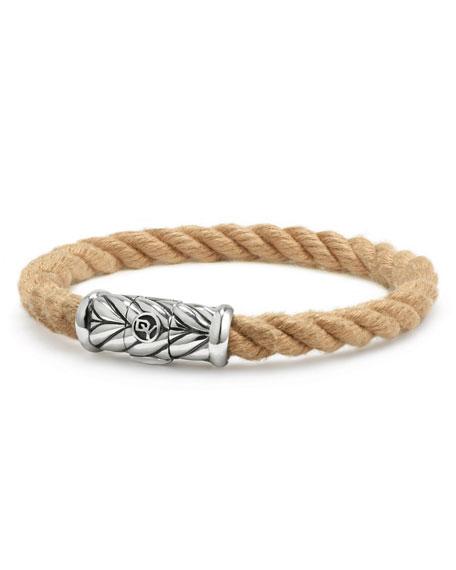 David Yurman Men's 8mm Maritime Rope Bracelet with
