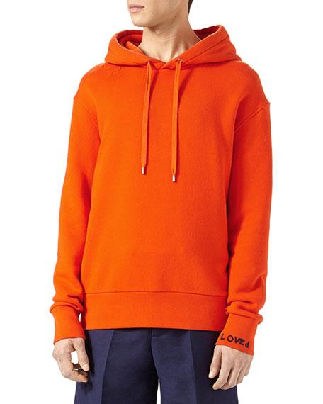 Gucci Hollywood Parakeet Cotton Sweatshirt