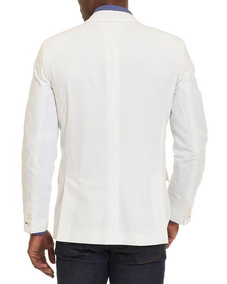 Castroville Seersucker Sport Coat, White