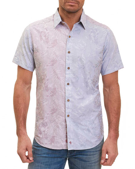 Limited Edition Bundy Boulevard Embroidered Shirt, Multicolor