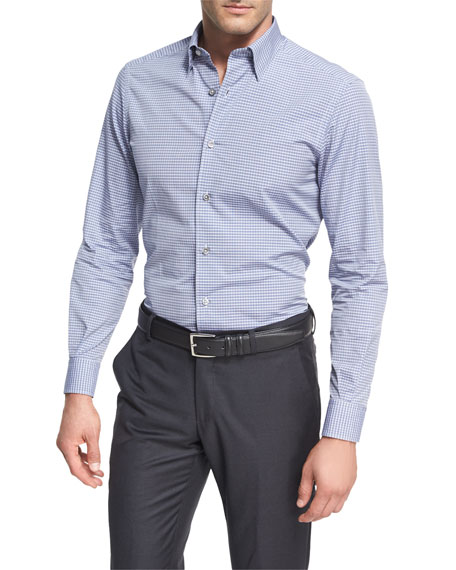 Kiton dress shirts checks sports at neiman marcus for Tuxedo shirt covered placket