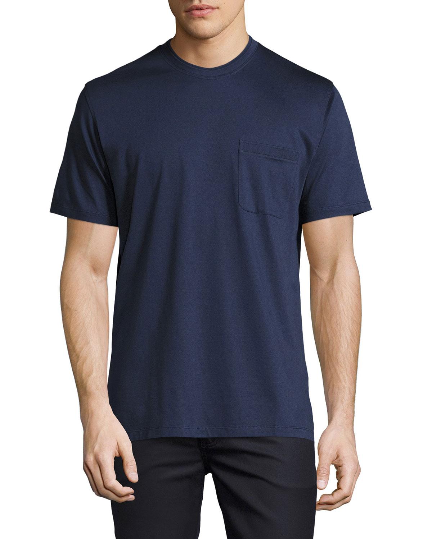 60cbf711 Cotton Pocket T-Shirt